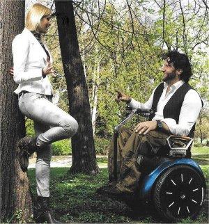 Segway Rollstuhl